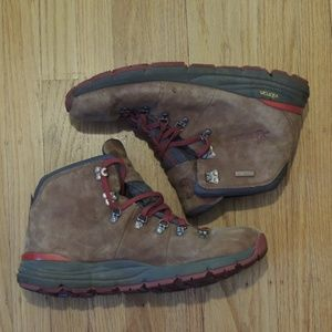 Danner Mountain 600 Dry Hiking Boots Leather Brown
